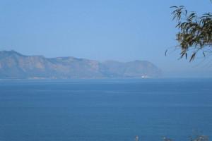 Bagheria (PA) località Mongerbino in vendita terreno agricolo panoramico con vista mare