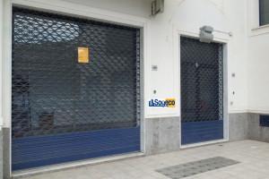 A/822 - Bagheria (PA) via Mattarella in affitto negozio mq. 150 unico grande vano con antibagno e bagno