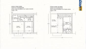 V/656 - Bagheria (PA) In vendita palazzina prospetto ad angolo su tre livelli complessivi 150 mq.
