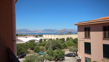 In vendita tre vani in residence con vista mare ad Aspra-Bagheria (PA) - V/353