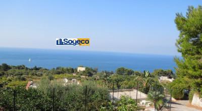 Bagheria (PA) contrada Vignazza terreno agricolo con incantevole vista mare sul golfo di Palermo