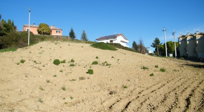 panoramico terreno edificabile