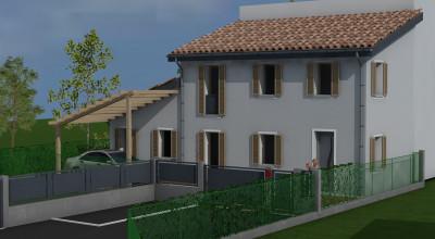 Casa accostata Mardimago rif. 132